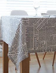 Rectangulaire Avec motifs Nappes de table , Mélange Lin/Coton MatérielHôtel Dining Table / Décoration Wedding Party / Wedding Banquet /