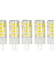 5Pcs A Fil Others G4 51Led Smd2835 5w  850Lm AC220   White Warm Natural White Small Ceramic Corn Lamp Other
