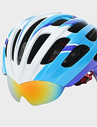 Unisex Mountain  Road Bike helmet 25 Vents Cycling Cycling  Mountain Cycling  Road Cycling One Size PC  EPS
