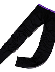 Yoga Pants Bottoms Breathable / Comfortable Natural Stretchy Sports Wear Black Women's Sports Yoga / Pilates