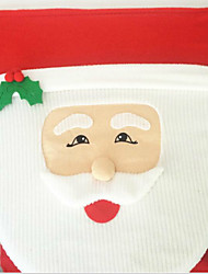 Santa Claus Toilet Lid Fish Eyes 43*33cm