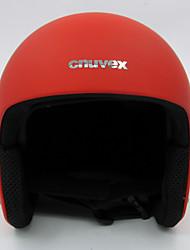 Casque Unisexe Sportif Sport Helmet Rouge / Noir Snow Helmet EPS / ABS Sports de neige