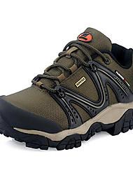 Sneakers Men's Anti-Slip Wearproof Waterproof Outdoor Fabric Rubber Cycling Hiking Leisure Sports