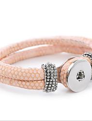 Femme Bracelets en cuir Cuir Alliage Serpent Bijoux Pour Quotidien Décontracté
