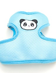 Lovely Panda/Rabbit/Bear  Pattern  Soft Harness with Leash for Pets Dogs(Assorted Sizes and Colours)