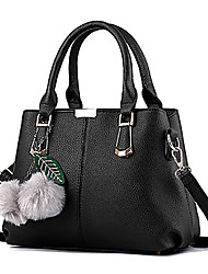 M.Plus® Women's Fashion PU Leather Messenger Shoulder Bag/Handbag Tote