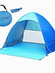 iCorer Resistente Raios Ultravioleta / Bem Ventilado / Ultra Leve (UL) / Dobrável / Portátil / Proteção Solar Um Quarto Tenda
