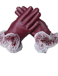 Autumn And Winter Touch Screen Ladies Warm Gloves