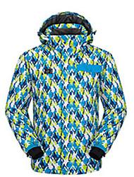 Sports Ski Wear Tops Men's Winter Wear Winter Clothing Waterproof / Breathable / Thermal / Warm / Windproof / WearableSkiing / Skating /