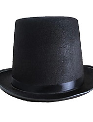 Black Magic Hat Hat Magic Hat Hat High Cap Jazz Hat Halloween Props
