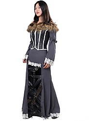 Cosplay Costumes /Hot Classical Anime Fantasy X 10 Lulu Cosplay Costume Women Role-playing Holloween Cos Dress Free Ship Custom Made