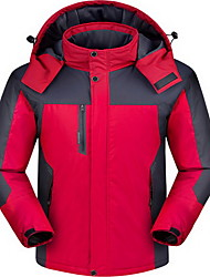Hiking Tops Men's Waterproof / Thermal / Warm / Windproof / Insulated / Comfortable Winter Cotton Red / Blue / Army GreenM / L / XL / XXL