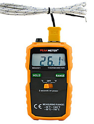 The MS6501 Comes Standard With An Industrial Contact Thermocouple Thermometer