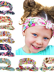 8 Colors/set Baby Girl Dot Knot Headband Newborn Infant Hair Accessories Elastic Bands