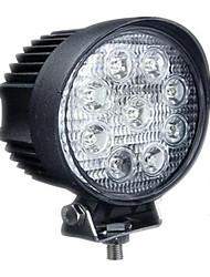 (Note * 27W Round Condenser) LED Car Auxiliary Lights