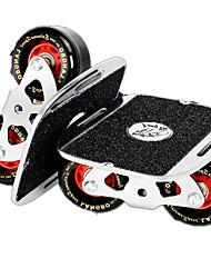 Aluminium Alloy Unisex Standard Skateboards Black+Sliver