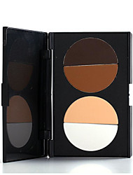 4 Concealer/Contour Dry Pressed powder Concealer / Uneven Skin Tone Face Multi-color Other Other