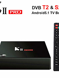 kii pro Amlogic S905 Android 5.1 Smart TV 2 g ram 16g-ROM DVD quad S905