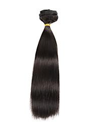 9pcs / set clipe de 120g de luxo em extensões capilares naturais 16inch 20inch preto 100% cabelo humano para as mulheres