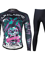 Ilpaladin Sport Men Long Sleeve Cycling Jerseys Suit CT720