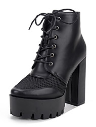 Knight thick with thick with cross strap high-heeled women short boots