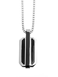 Fashion Men's 316L Stainless Steel Pendant Necklace