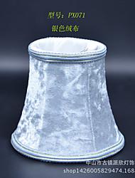 simples clipe de bolha de flanela pequeno manual pano abajur abajur / revestimento de parede de cristal droplight vidro vela