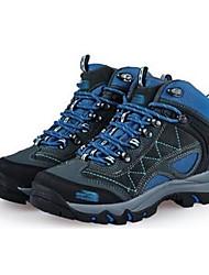 HombreConfort-Zapatillas de Atletismo-Casual-Ante-Azul / Marrón