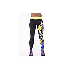 Running Pants/Trousers/Overtrousers / Leggings / Bottoms Women's Quick Dry / Comfortable / Sunscreen ElastaneYoga / Exercise & Fitness /