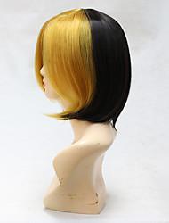 avant blonds arrière remorque noire couleur tonale mode mixte sia ce agit cosplay perruque synthétique couleur ombre port quotidien