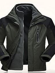 Trilha Blusas Mulheres / Homens Impermeável / Mantenha Quente / Confortável Primavera / Outono / Inverno TeryleneVerde Lima / Verde