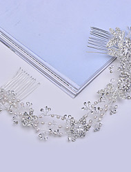 Women's Alloy / Imitation Pearl Headpiece-Wedding / Special Occasion / Casual Headbands / Hair Combs 1 Piece