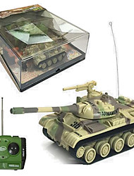 Tank Racing T-55 1:12 Brushless Electric RC Car 30km/h 2.4G Camouflage Ready-To-Go Tank / USB Cable / User Manual