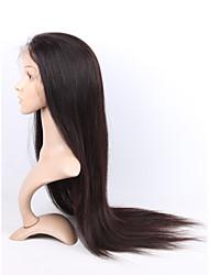 22inch Spitze Frontseiten-Menschenhaarperücken für schwarze Frauen glueless Spitze frontale Perücken des brasilianischen reinen Haares