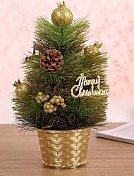 1 pc agulhas guirlanda de Natal de pinheiros decoração do Natal por 20 centímetros casa partido diâmetro navidad novos suprimentos ano
