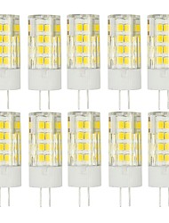 10Pcs A Fil   G4 51Led Smd2835 5w  850Lm AC220   White Warm Natural White Small Céramique maïs Lampe