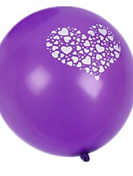 Balloons Rubber Purple For Boys / For Girls 14 Years & Up