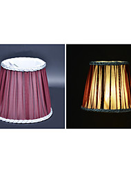 The candle crystal chandeliers wall lamp shade/snow spins cloth lamp shade/color