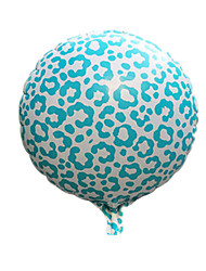 Balloons Holiday Supplies Sphere / Animal Aluminium White / Blue For Boys / For Girls