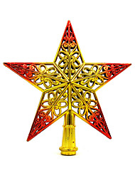 Christmas Decorations / Christmas Party Supplies / Christmas Tree Ornaments Holiday Supplies / Plastic/2Pcs