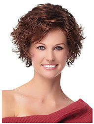 Natural Looking Heat Resistant Fashion Synthetic Wig for European and American Laides Wearing