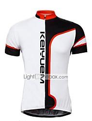 KEIYUEM ®Unisex Cycling Clothing  Short Sleeve Bike Spring / SummerWaterproof / Breathable / Quick Dry Waterproof