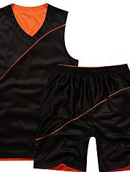 designet Kortermet basketball løpegenser topper baggy shorts pustende svettetransporterende komfortabel gul hvit svart orangewhite