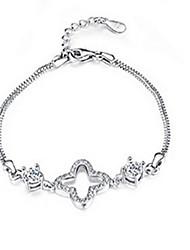 Bracelet Chaînes & Bracelets Argent sterling Soirée Bijoux Cadeau Argent,1pc