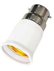 B22 auf E27 LED Leuchtmittel Sockel Adapter