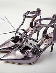 Damen-High Heels-Outddor-KunstlederAndere-Silber Grau