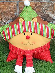 новогодняя пятиконечная звезда подушки рождественские подарки рождественские украшения окна принадлежности