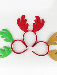 Товары для Рождественской вечеринки Рождественские игрушки Товары для отпуска 3Pcs Рождество Текстиль Серебристый Серый