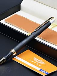 285A Dark Tip Iridium Pen Gift Leather Gift Box Leather Pen Bag