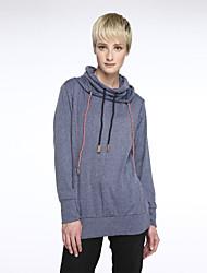 Damen Hoodies  -  Leger Langarm Baumwolle / Polyester Medium